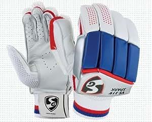SG Cricket Batting Gloves - Premium Leather (Men's)