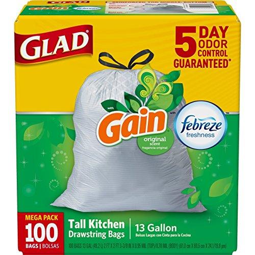 Glad Kitchen Bags 100 - 9