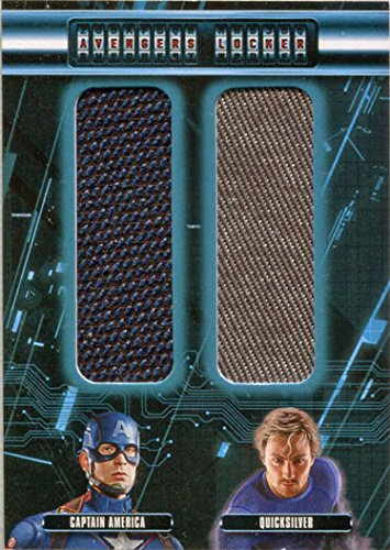 Marvel Avengers Age of Ultron Costume AL2-CP Dual Capt. America and Quicksilver]()