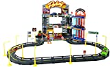 (US) Track N' Town 70 Pc. Garage Playset