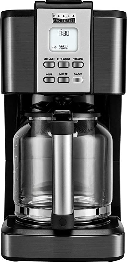 Amazon.com: Bella Pro Series 90061 - Cafetera de émbolo ...