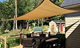Artouch 8' x12' Rectangle Sun Shade Sails UV Block