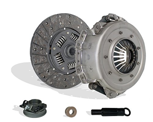 Clutch Kit Set Works With Ford Mustang Base Grande 1969-1973 4.1L L6 GAS Naturally Aspirated (Diaphragm type clutch cover) ()