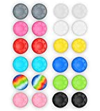24 Silicone Studded Thumb Stick Grip Covers for Xbox One 360 PS2 PS3 PS4 Wii U