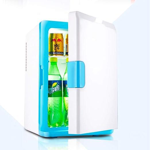 WOLJW Congelador Enfriador Calentador Mini refrigerador 16L ...