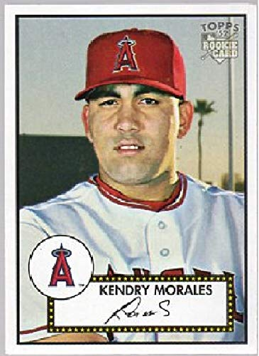 Design Moral - 2006 Topps - 1952 Topps Design - Kendrys Morales Baseball Rookie Card RC #66