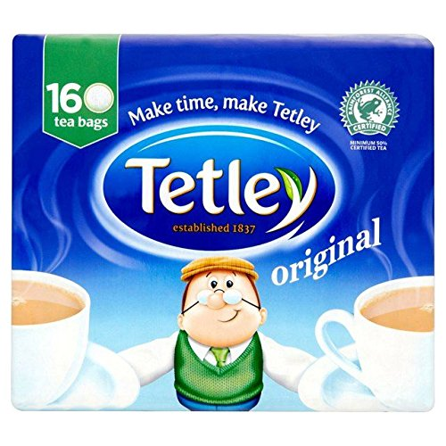 Tetley Tea Bags 160 per pack - Pack of 6 by Tetley