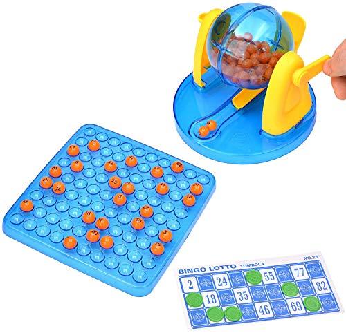 7TECH Bingo Game Supplies Puzzle Desktop Toys for Children,Bingo Game