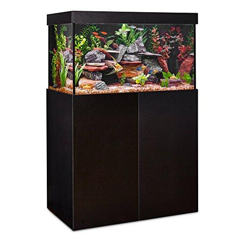 Imagitarium 40-Gallon Modular Aquarium Magnetic Panels in Black Gloss (Fish Tanks With Stands)