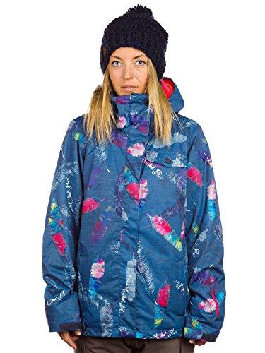 UPC 888256128620, Roxy Jetty Insulated Jacket - Women's Vanilla Skies/Peacoat, S