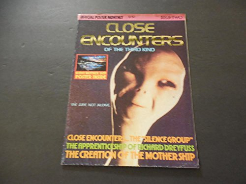 Encounters 2 Light (Close Encounters Of The Third Kind Poster Magazine Iss #2 1978)