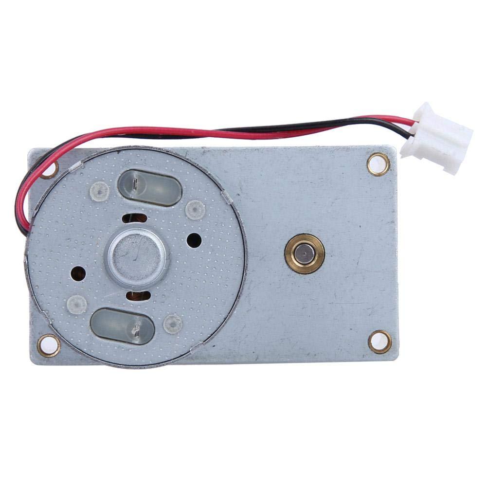 motor de caja de engranajes de metal reversible de 3-12 V CC Motor de reducci/ón de velocidad del motor 27 RPM para monitoreo de seguridad de instrumentos de v/álvula Motor de v/álvula de zona