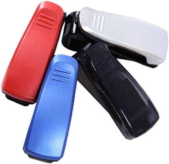 Momorain Multifonction De Voiture Pratique Lunettes Carte Trombone Ventouse Auto Attaches pour Ticket Rideau Clip De Voiture Accessoires