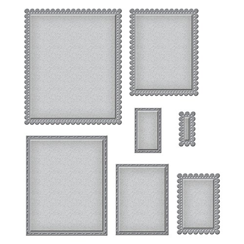 (Spellbinders Nestabilities Fancy Edged Rectangles Etched/Wafer Thin Dies)