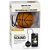 Sound Logic Basketball Keychain Rechargeable Speaker