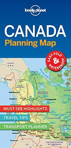 Lonely Planet Canada Planning Map (Lonely Planet Canada)