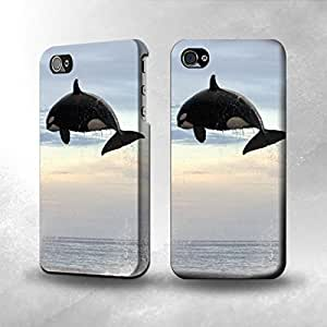 Apple iPhone 4 / 4S Case - The Best 3D Full Wrap iPhone Case - Killer whale Orca