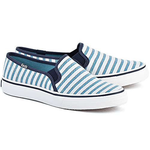 Keds Double Decker Stripe Blue KWF54670