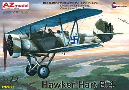 AZモデル 1/72 フィンランド空軍 ホーカー ハート B.4 プラモデル AZM7619