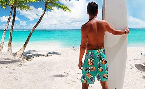 EWHUBVDa Mystic Symbol Summer Mens Quick-Drying Swim Trunks Beach Shorts