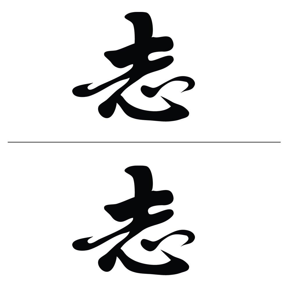 Amazon auto vynamics bmpr kanji ambition 6 gbla gloss amazon auto vynamics bmpr kanji ambition 6 gbla gloss black ambition japanese kanji symbol decal fun vinyl graphic sticker 2 decal biocorpaavc