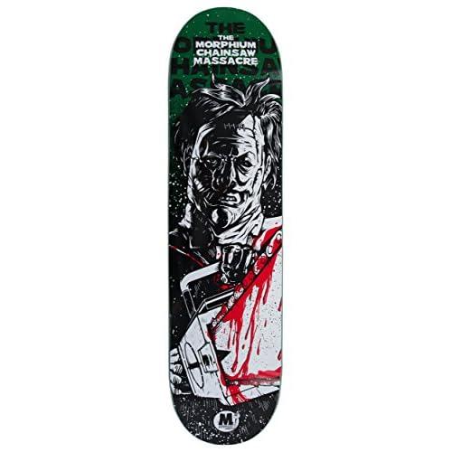 morphium Skateboard Deck Leather Face 8.125avec grip