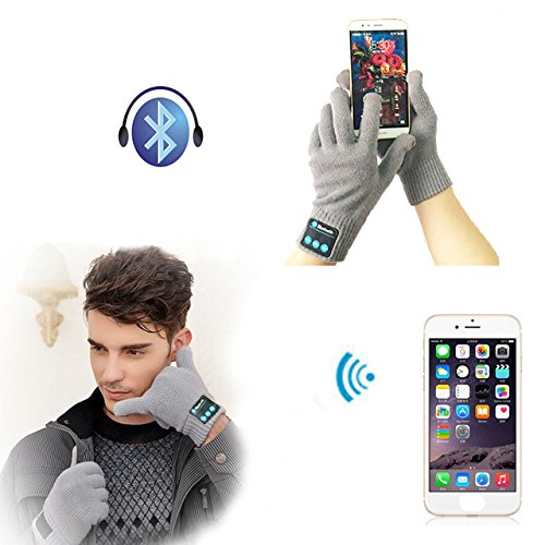 Farway Winter Warm Smart Touch Screen Bluetooth Wireless Hands Free Calls MP3 Play Gloves