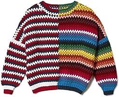 Jonathan Cohen Crochet Pullover, Americana and Mexicana