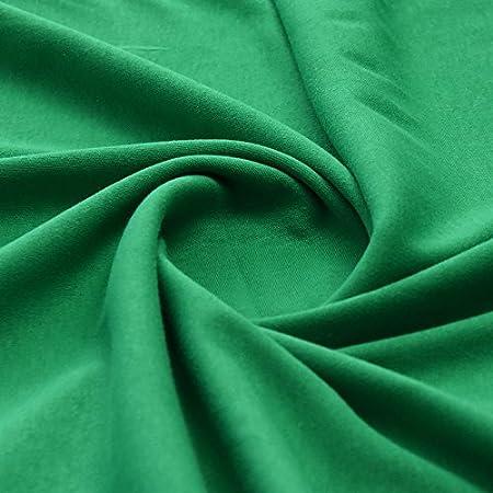 fb640dbc4ab Plain Green 100% Cotton Interlock Double Jersey Fabric 158cm Wide Per meter  - (GREEN): Amazon.co.uk: Kitchen & Home
