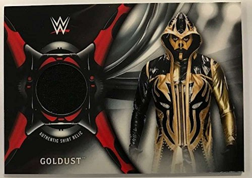 2018 Topps Road to WrestleMania Shirt Relics #SR-GO Goldust NM-MT MEM from Road to WrestleMania