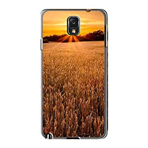 Bumper Hard Phone Covers For Samsung Galaxy Note 3 (zwd6945Akws) Support Personal Customs HD Field At Sunset Skin