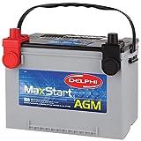 2000 Workhorse FasTrack FT1260 Batteries - Delphi BU9078DT MaxStart AGM Premium Automotive Battery, Group Size 78DT (Dual Terminal)