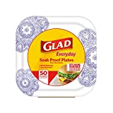 Glad Square Disposable Paper Plates for All Occasions | Soak Proof, Cut Proof, Microwaveable Heavy Duty Disposable Plates | 8.5"|160|160|?|en|2|a332a5cdeb07987c5dfe33d63536e81c|False|UNLIKELY|0.3690124452114105