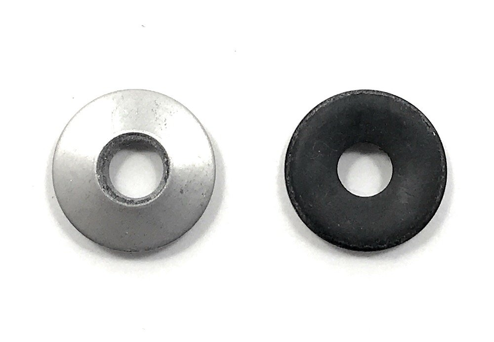 Stainless Steel Neoprene EPDM Washers 1/4 ID x 5/8 OD (100 Pcs) 18-8