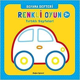 Renkli Oyun Boyama Defteri Tirtikli Sayfalar Collective
