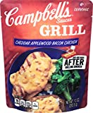 Campbell's Grill Sauces, Cheddar Applewood Bacon Chicken, 10 Ounce (Pack of 6)