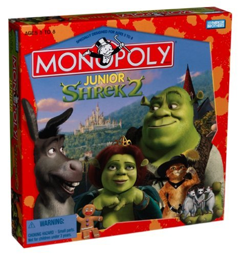 Monopoly Junior Shrek 2 Game by Unknown