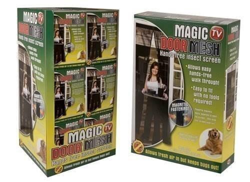 Mosquitera magnetica magic mesh cortina anti mosquitos insectos instalacion facil GroceryCentre J0189b