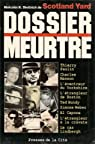 Dossier meurtre par Diettrich