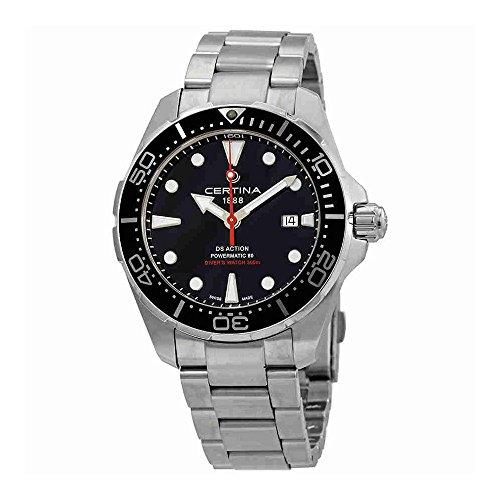 Certina Ds Action Diver Black Dial Automatic Mens Watch C032.407.11.051.00