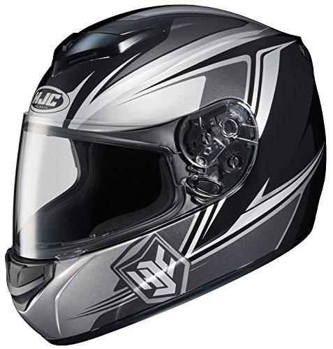 HJC CS-R2 Seca Full-Face Motorcycle Helmet (MC-5, Medium) by HJC - Full Face Helmet Mc5
