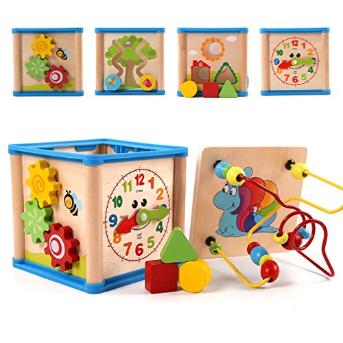 free shipping onshine colorful wooden educational toys game baby