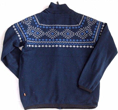 Hudson Windstopper Sweater Herren Norweger Strickjacke navy M-XXXL