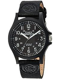 Men's TW4B08100 Expedition Acadia Black Leather/Nylon Strap Watch