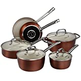 Pots and Pans Set, Cooksmark Ceramic Cookware Set Review and Comparison