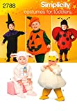 Best  - Simplicity Sewing Pattern 2788 Toddler Costumes, A (1/2-1-2-3-4) Review