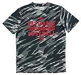 adidas Boys Washington Nationals MLB Clima Dugout T Shirt Grey