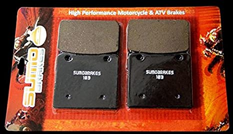 BRAKE PADS FITS SUZUKI GS1150 GS1150E 1984 1985 1986 FRONT REAR MOTORCYCLE PADS