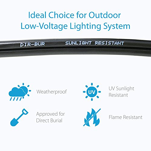 Outdoor landscape lighting electric