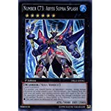 YuGiOh : DRLG-EN041 1st Ed Number C73: Abyss Supra Splash Super Rare Card - ( Dragons of Legend Yu-Gi-Oh! Single Card )